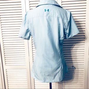 Under Armour Tops - Under Armour | 🌺 Fitted Heat Gear Fishing Shirt